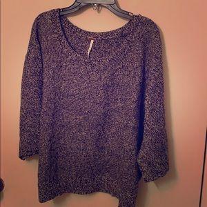 Brand new Free People grey sweater
